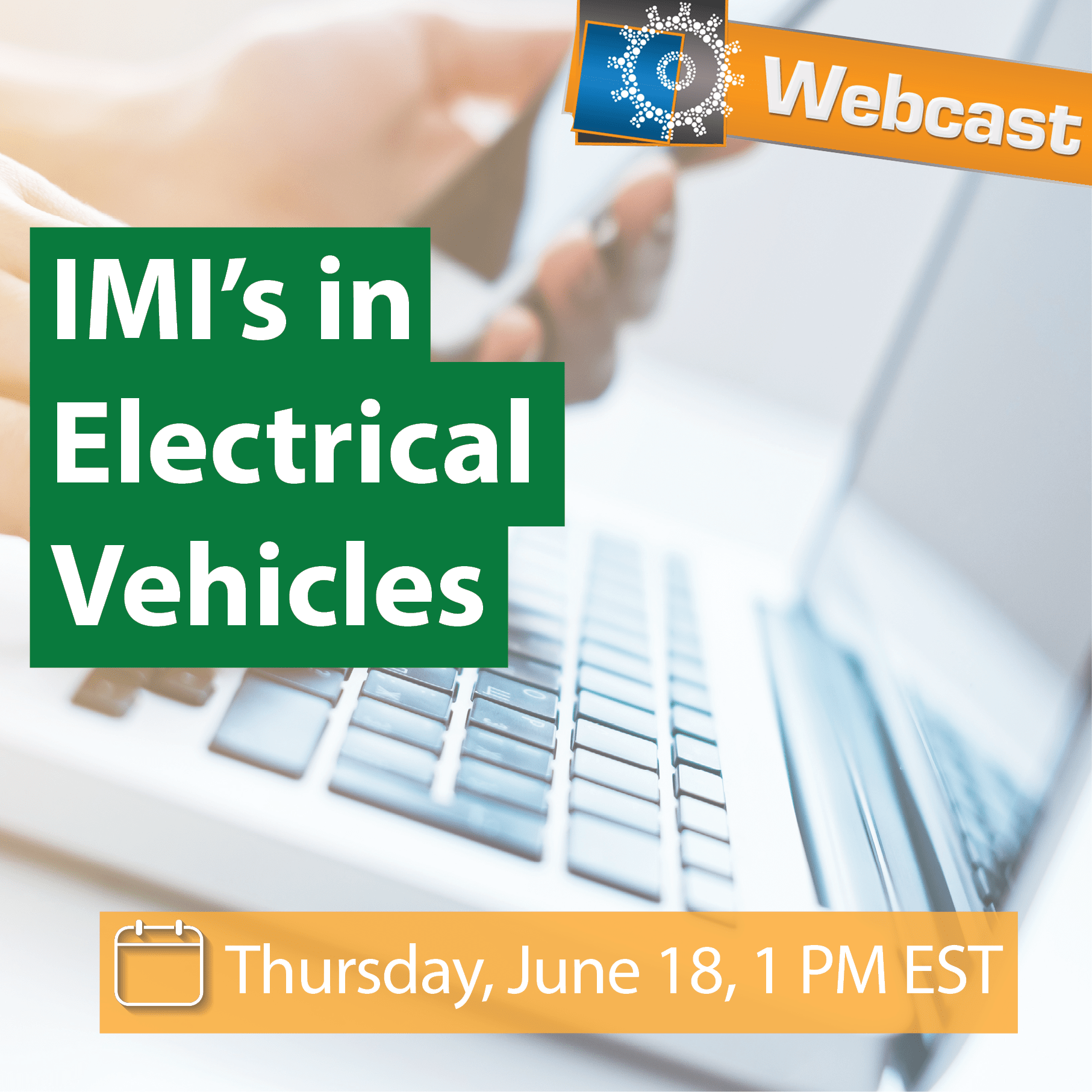 Webcast: IMI's in Electrical Vehicles